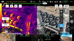 Thermal Imaging H20T Camera Oil and Gas Sites DJI M300