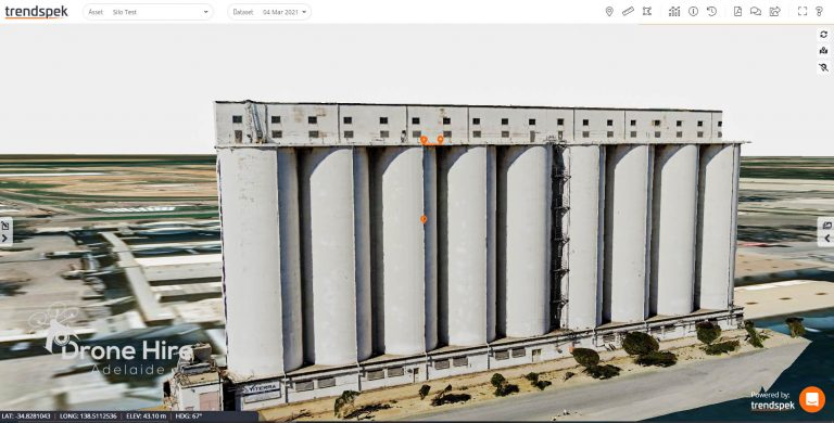 3d Render - Silo Port Adelaide Drone Hire Adelaide