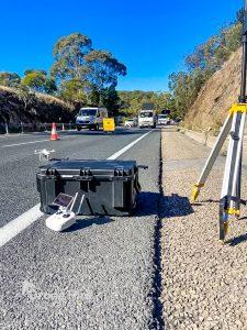 Rock Cutting Drone Surveying